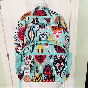 $149 retails vera Bradley NWT Pueblo teal backpack